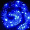 "Гирлянда ""Мишура"" со светодиодами, синяя"