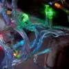 Гирлянда 200 разноцветных светодиодов, длина 20 метров