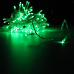 Гирлянда на 120 зелёных светодиодов