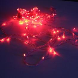Гирлянда на 120 красных светодиодов