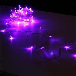 Гирлянда на 120 фиолетовых светодиодов