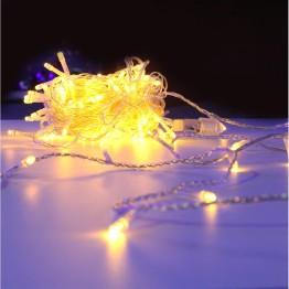 Гирлянда на 120 жёлтых светодиодов