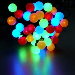 """Гирлянда """"жемчужные шарики"""" на 48 светодиодов"""