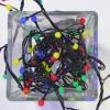 """Гирлянда """"жемчужные шарики"""" на 128 светодиодов"""