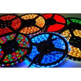 Дюралайт с разноцветными светодиодами с контроллером