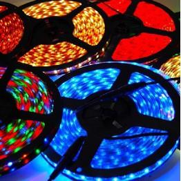 Дюралайт с фиолетовыми светодиодами с контроллером