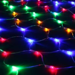 """Гирлянда """"Сетка"""" 300 разноцветных светодиодов"""
