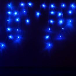 """Гирлянда """"Сосульки"""", 100 синих светодиодов"""
