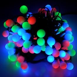 """Гирлянда """"Шарики цветные"""", 70 разноцветных светодиодов"""
