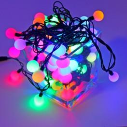 """Гирлянда """"Шарики цветные"""", 100 RGB-светодиодов"""
