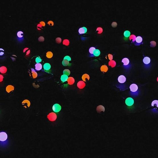 """Гирлянда """"Шарики цветные"""", 100 разноцветных светодиодов"""