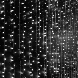"Гирлянда ""Занавес"" на 625 светодиодов, белый"