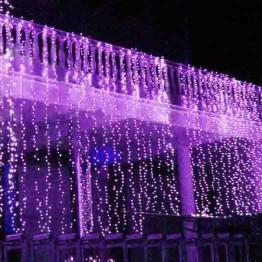 """Гирлянда """"Занавес"""" на 925 светодиодов, фиолетовый"""