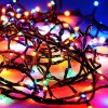 Гирлянда с контролером на 300 цветных микролампочек