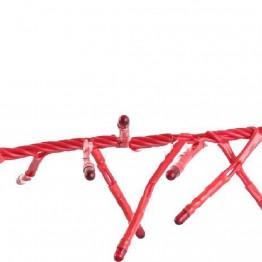 """Гирлянда """"фейерверк"""", 20 красных микролампочек"""