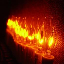 "Гирлянда ""Мерцающие свечи"" 10 ламп"