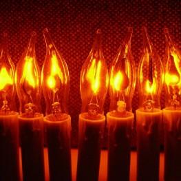 "Гирлянда ""Мерцающие свечи"" 20 ламп"