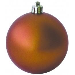 Набор матовых оранжевых шариков диаметром 8 см