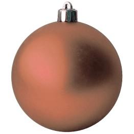 Матовый шар оранжевый диаметром 10 см