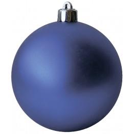 Матовый шар синий диаметром 12 см