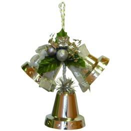 Подвеска колокольчики серебряные 20 см