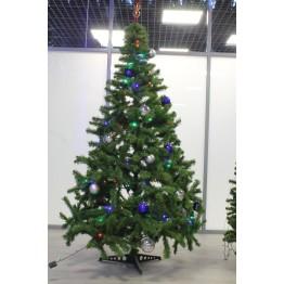 елка с шишками 220 см