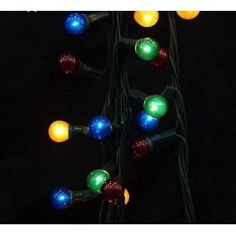 """Гирлянда """"Жемчужные шарики"""", 100 разноцветных лампочек с контроллером"""