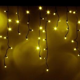 """Морозостойкая гирлянда """"Сосульки"""" 100 желтых светодиодов, 2х0,5м"""