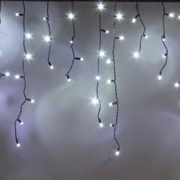 """Морозостойкая гирлянда """"Сосульки"""" 100 белых светодиодов, 2х0,5м"""