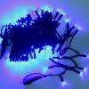 Морозостойкая гирлянда 120 синих светодиодов, 12м