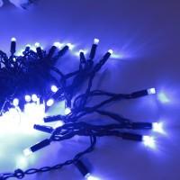 Морозостойкая гирлянда 120 синих светодиодов, мерцающая, 12м