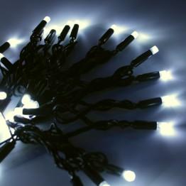 Морозостойкая гирлянда 120 белых светодиодов, мерцающая, 12м