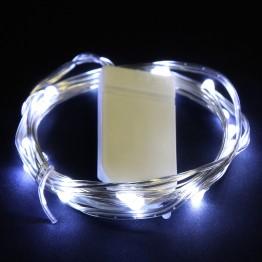 Гирлянда Роса 20 белых минисветодиодов