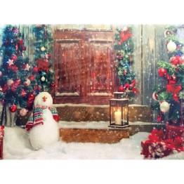 """Картина со светодиодами """"Новогодняя"""""""
