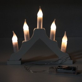 Гирлянда горка 5 светодиодов