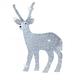 Светящаяся фигура  Белый олень