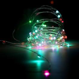 Нить 120 RGB светодиодов
