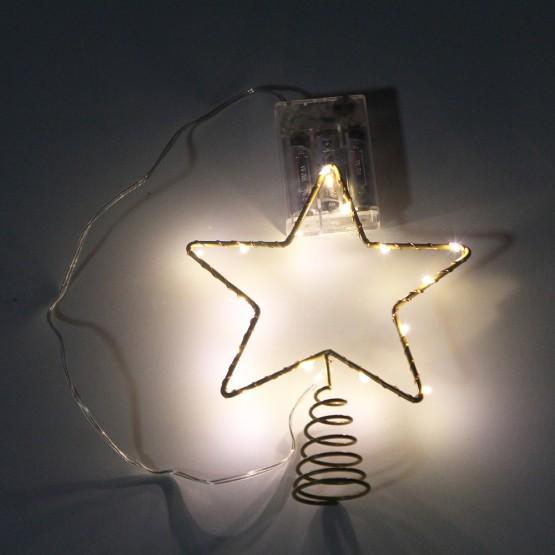 Светильник на верхушку ели STG15-LDM15-WW-BO