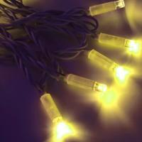 Морозостойкая гирлянда 120 желтых светодиодов, 12м