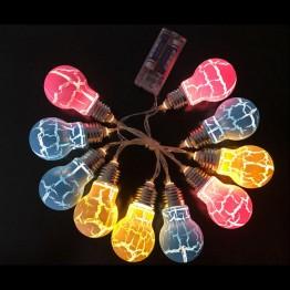 Гирлянда 10 белых светодиодов ILD-10WW-BO-LM