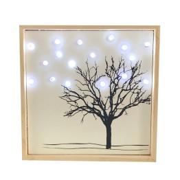 "Картина ""Дерево в снегу"""