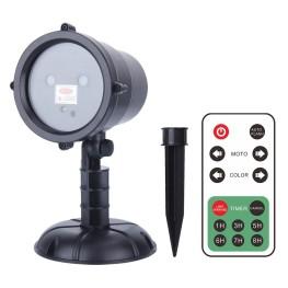 Лазерный проектор с рисунками с пультом ДУ
